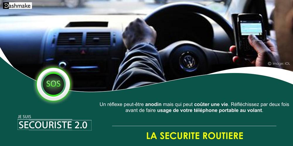 Secouriste 2.0: Danger de l'utilisation du t?l?phone au volant